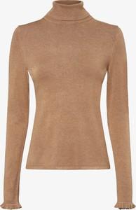 Brązowy sweter comma,