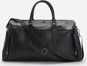 Czarna torba podróżna Reserved