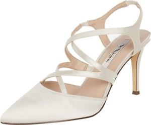Szpilki Nina Shoes w stylu klasycznym ze spiczastym noskiem na średnim obcasie