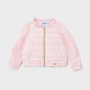 Różowa kurtka dziecięca Mayoral