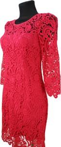 Sukienka B&b Studio ołówkowa z długim rękawem