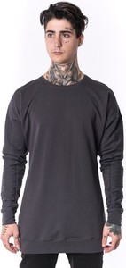 Granatowy sweter Theg Clothing w stylu casual