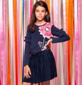 5ca09825 czarna plisowana spódniczka - stylowo i modnie z Allani