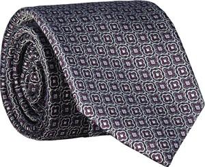 Granatowy krawat Lavard