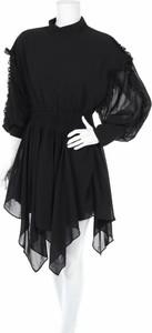 Czarna sukienka Mossman z długim rękawem