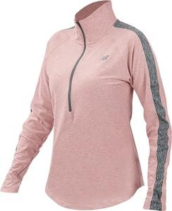 Różowa bluza New Balance w sportowym stylu