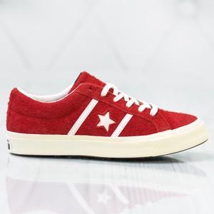 Czerwone trampki i tenisówki Converse, kolekcja wiosna 2020