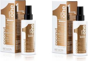 Revlon Zestaw Uniq One - kuracja kokosowa do włosów 10 w 1 150ml x2 - Wysyłka w 24H!
