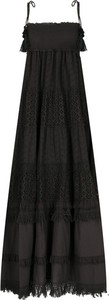 Sukienka Twinset z dekoltem w karo na ramiączkach