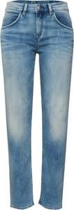 Niebieskie jeansy Drykorn w street stylu