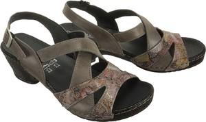Sandały Comfortabel w stylu casual ze skóry