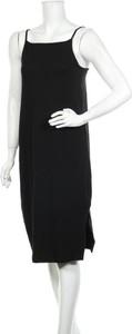Czarna sukienka Anna Field z okrągłym dekoltem w stylu casual bez rękawów