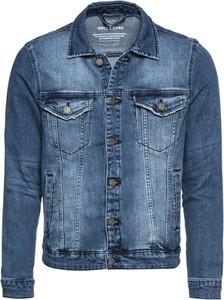 Niebieska kurtka Only & Sons z bawełny