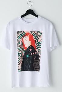 T-shirt Cropp z okrągłym dekoltem z krótkim rękawem w młodzieżowym stylu