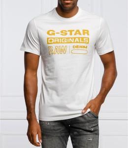 T-shirt G- Star Raw z bawełny z krótkim rękawem