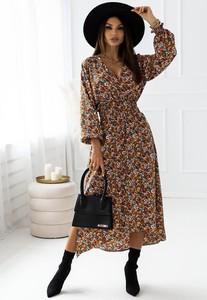 Sukienka Latika z długim rękawem w stylu casual