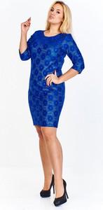 Sukienka Madam Tris ołówkowa mini