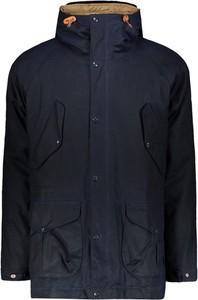 Niebieska kurtka Manifattura Ceccarelli z bawełny w stylu casual