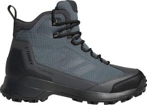8429993b3bcba Niebieskie buty trekkingowe Adidas Performance sznurowane