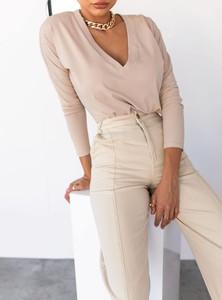 Bluzka SELFIEROOM z długim rękawem z bawełny