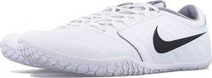 Buty sportowe Nike w sportowym stylu sznurowane ze skóry