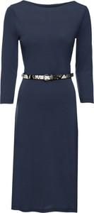 Niebieska sukienka bonprix BODYFLIRT