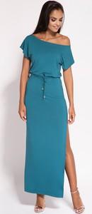 Niebieska sukienka Dursi