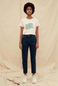 Niebieskie jeansy Trendyol w stylu casual z bawełny