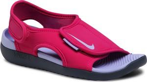 Różowe buty dziecięce letnie Nike dla dziewczynek