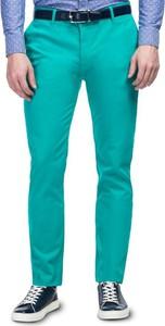 Błękitne spodnie giacomo conti