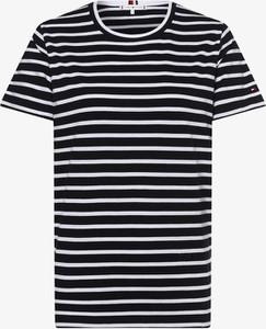 T-shirt Tommy Hilfiger z bawełny w stylu casual z okrągłym dekoltem