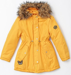Żółta kurtka dziecięca born2be