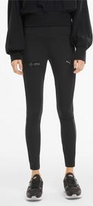 Czarne legginsy Puma z bawełny