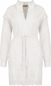 Sukienka Twinset z długim rękawem mini w stylu casual