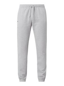 Spodnie Lacoste z dresówki