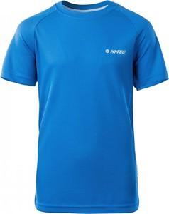 Niebieska koszulka dziecięca Hi-Tec