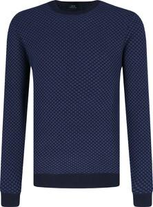 Niebieski sweter Armani Jeans