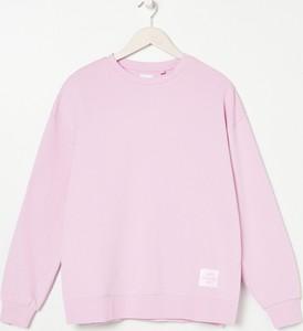 Fioletowa bluza Sinsay