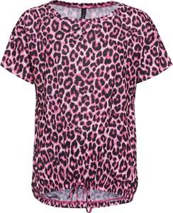 T-shirt bonprix RAINBOW z okrągłym dekoltem w stylu casual