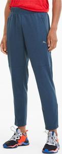 Niebieskie spodnie sportowe Puma