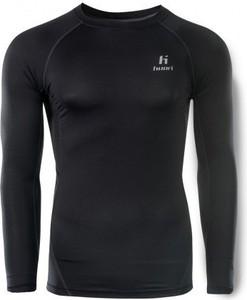Czarna koszulka z długim rękawem sklepiguana