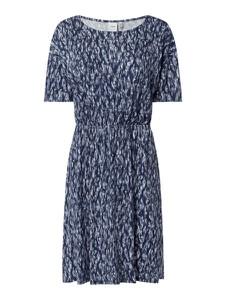 Sukienka Ichi w stylu casual z krótkim rękawem mini