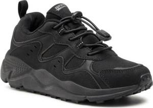 Czarne buty sportowe dziecięce Sprandi dla chłopców sznurowane
