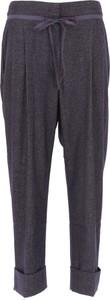 Spodnie Emporio Armani z bawełny w stylu casual