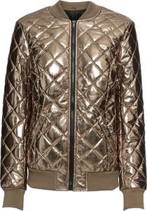 Brązowa kurtka bonprix BODYFLIRT w stylu casual