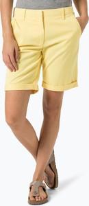 Tommy hilfiger - spodenki damskie, żółty