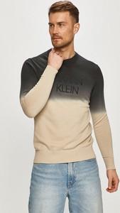 Sweter Calvin Klein z okrągłym dekoltem