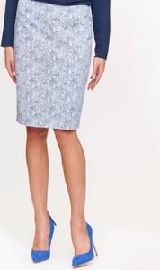 Niebieska spódnica Tatuum