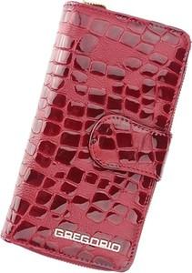 Czerwony portfel Pellucci