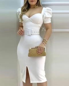 Sukienka Kendallme midi dopasowana